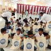 SSSVJ School children come to Brindavan