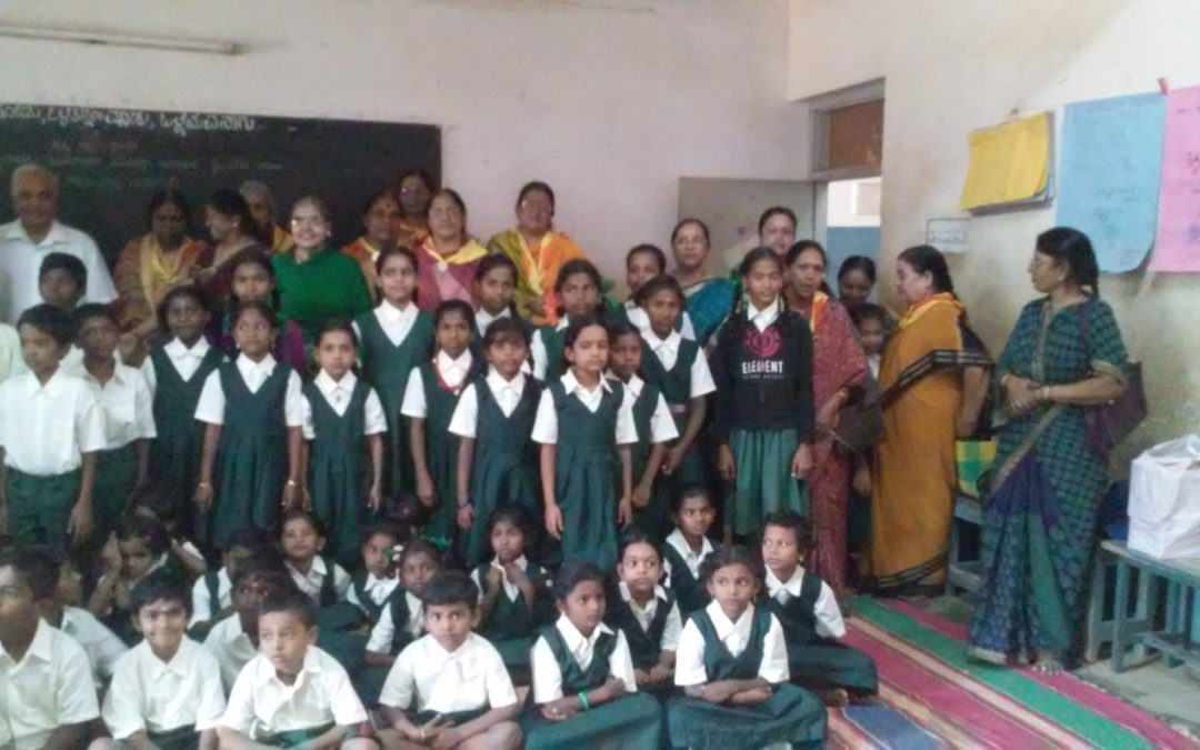 Uniforms Distribution in Sahakari Vidya Kendra School
