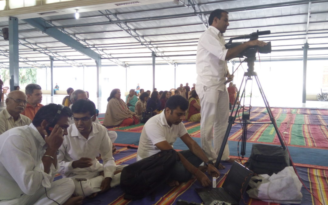 Live Video Broadcasting Trial Run by Digital Archive Team Karnataka!