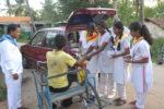 Grama seva by Sai School childrens of Shivamogga