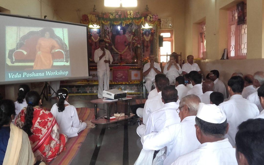 District level veda workshop-Sri Satyasai Gram Seva Kendra Kalloli