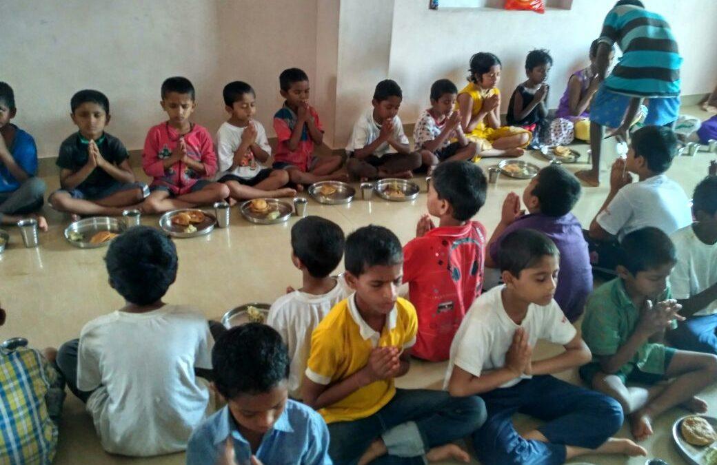 Narayana Seva for orphanage children at Kachohalli