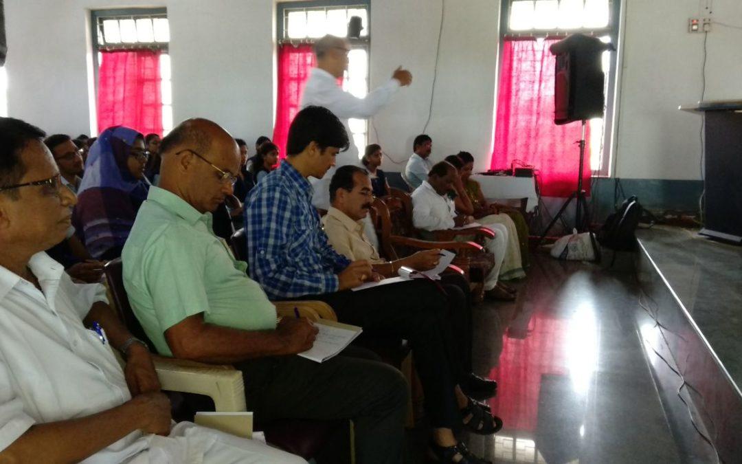 "Workshop on ""Life is game play it"" @Karwar, North Kanara"
