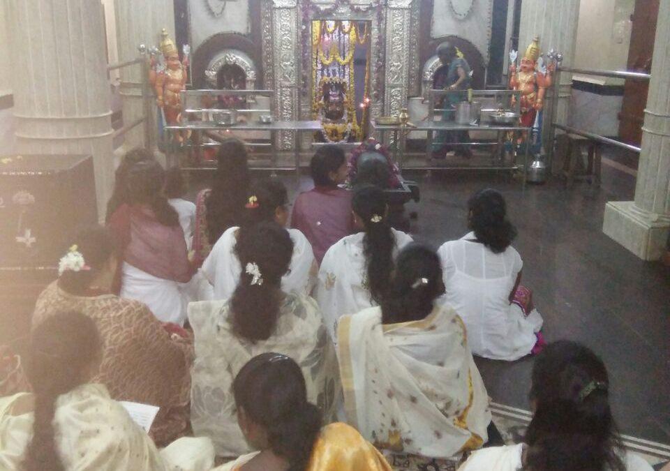 Veda chanting on 10-11-2017 @ Mahadev temple, Karwar