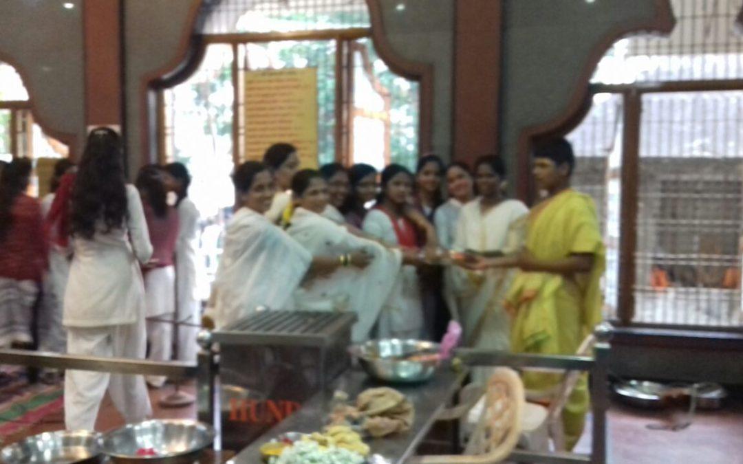 Veda Chanting on 19-11-17@ Ganapati temple, Karwar, North Kanara