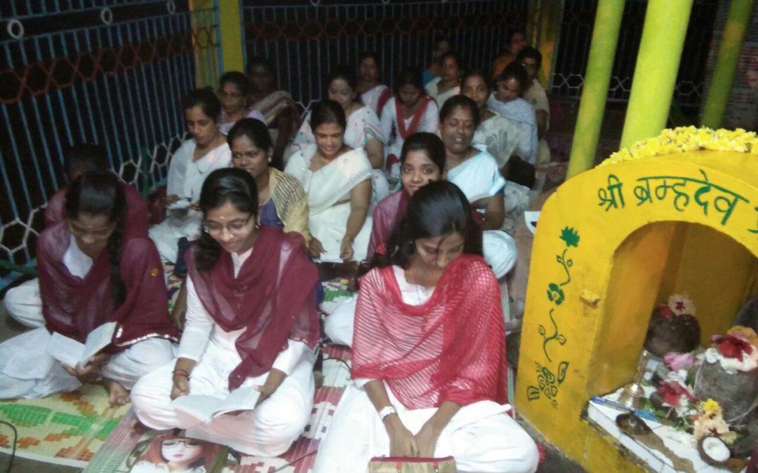 Veda Chanting on 20-11-17@Sri Brahmadev Temple, Karwar, North Kanara
