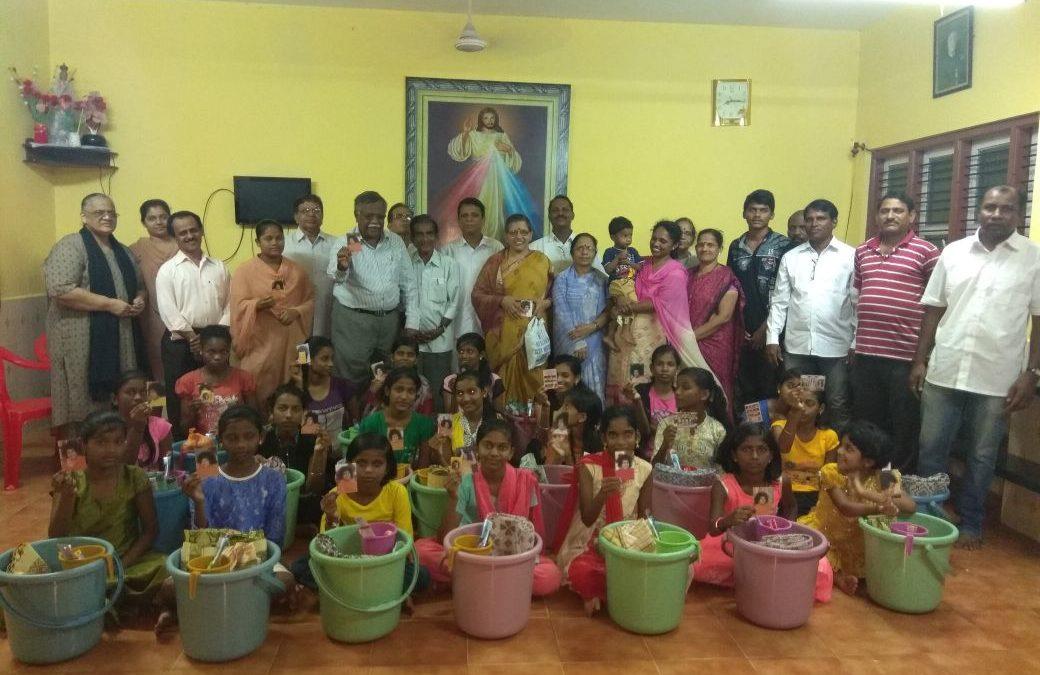 Sanitary Kit Distribution to Orphan Students@Karwar,North Kanara