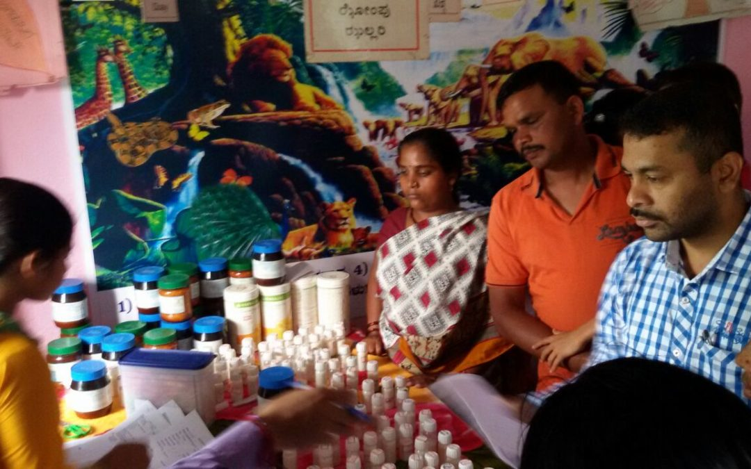 Homeopathy Medical Camp @Domgera & Neelavani, North kanara