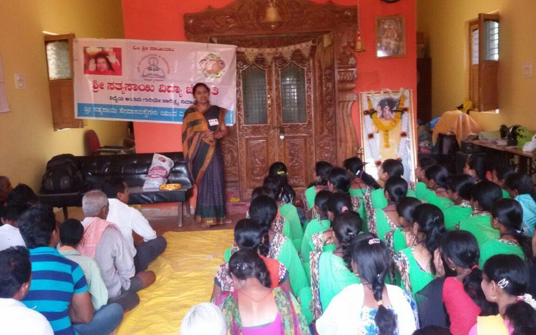 Workshop for youths@ SSSVJ Neelavani, Haliyal, North Kanara