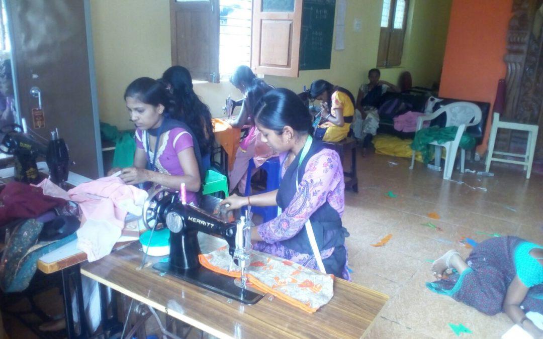 Vocational Training @SSSVJ Neelavani, Haliyal, North Kanara