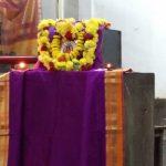 Program in temple in Padmanabhanagara
