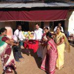 Swami's Birthday celebration at SSSVJ school in Shivamogga