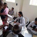 Medical camp at Vagata, Bengaluru rural