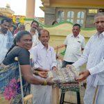 Special Bhajan and Blankets Distribution in Kabbalu Village ,Ramanagara Dist