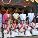 Republic Day celebration In Sai School. Shivamogga.