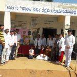 Dental camp at SSSVJ adopted school @ Bengaluru West District
