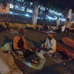 Blankets to the homeless @ Mysuru