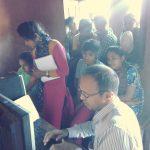 Computer Training @SSSVIP, Pandarwal, Haliyal, Uttara kannada