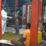 Bhajan Training to youth in SSSVJ adopted village, Dharwad