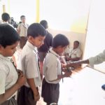 Sai Protein distribution@ SSSVJ School, Bengaluru South District
