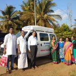 Mobile Dental camp @SSSVJ School, Shivamogga