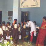 Mobile Dental camp @ SSSVJ School, Shivamogga District