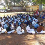 Balvikas and Sai Protein distribution at Government school, Bengaluru West district