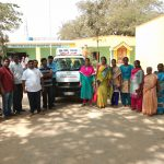 Eye clinic at Government school, Kolar district