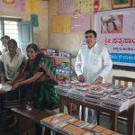 Stationary distribution at SSSVJ School, Shivamogga