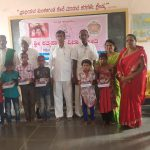 Stationary and Sweets distribution @ SSSVJ School, Bagalkot