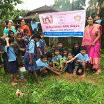 Tree Plantation@ SSSVJ School, Sagara