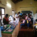 6th Medical Camp by SSSD&GMC @SSSKP School Areangadi,Honnavar, Uttara Kannada