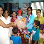 Baby Kit Distribution as Flood Relief @Karwar, Uttara Kannada