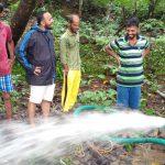 Chlorination Service as Flood Relief @Karwar, Uttara Kannada