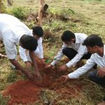 Tree planting @ Dakshina Kannada