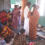 95th Birth Day celebration in Govt school Padmenahalli village. Bhadravathi.