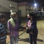 95th Bday_ Blankets distribution _MALLESWARAM SAMITHI